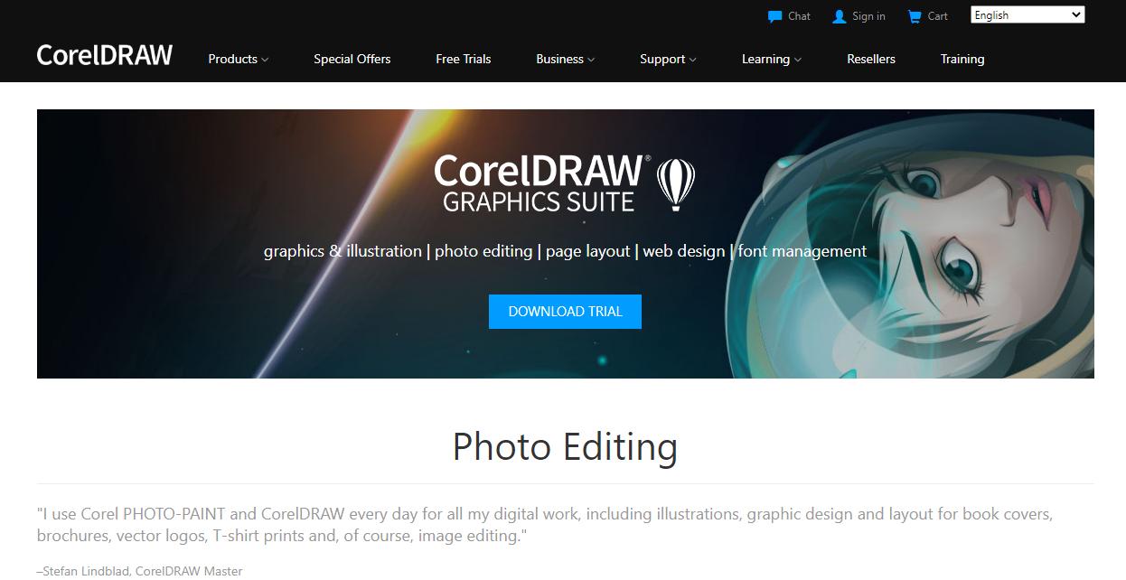 CorelDraw Image Editor
