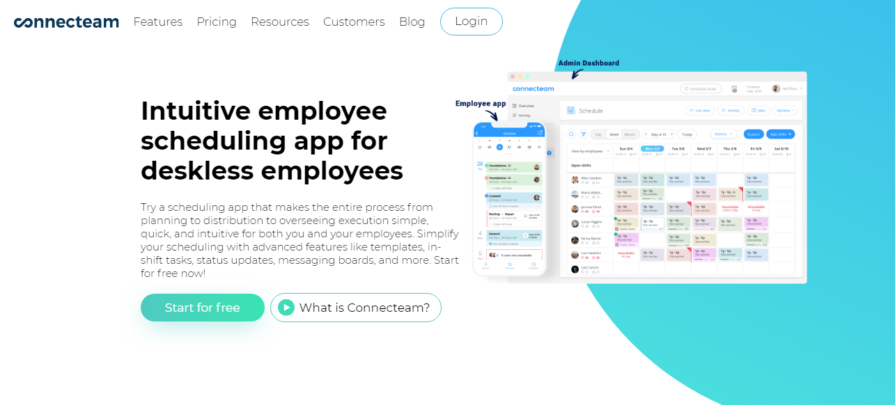 Connecteam Employee Scheduling Application