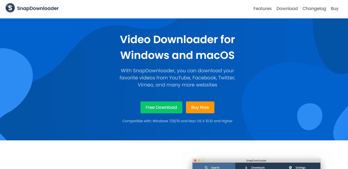 SnapDownloader Video Downloader