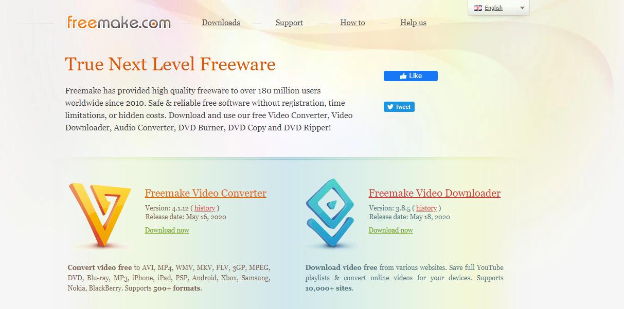 Freemake converter