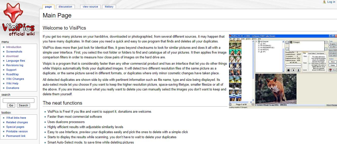 VisiPics Duplicate Photo Remover