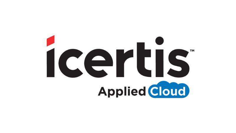Logo of Icertis