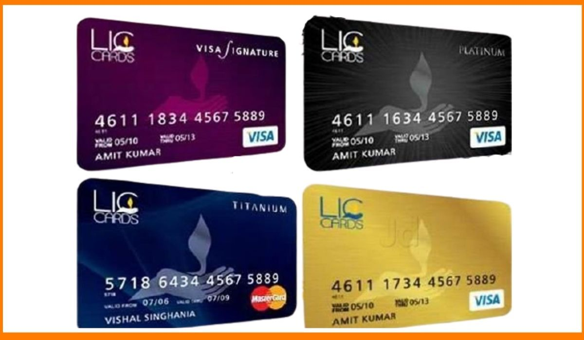 The types of LIC Cards