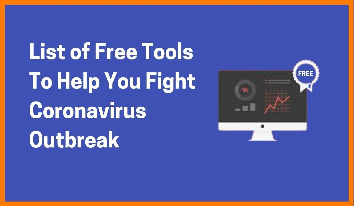 List of Free Tools You Can Get While Working From Home | Deals on Tools in Coronavirus
