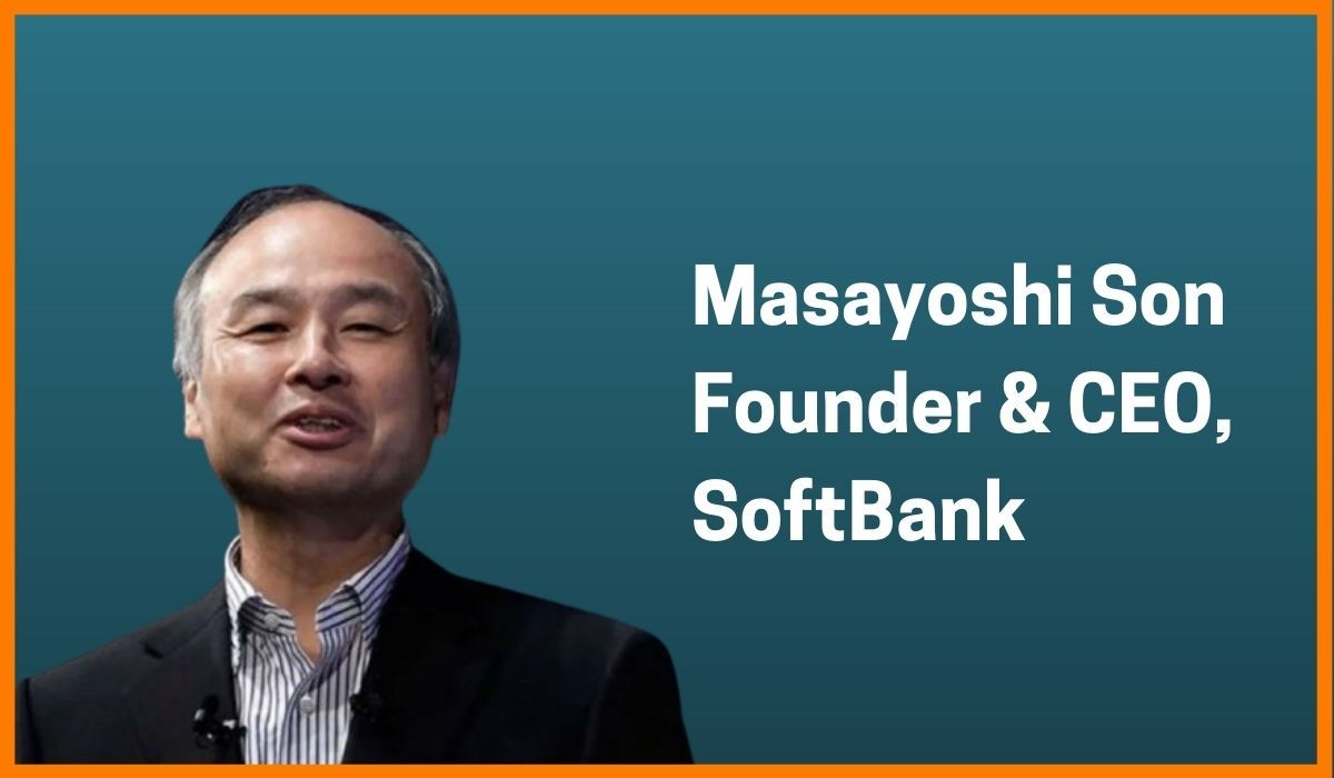 Masayoshi Son: Founder & CEO of SoftBank