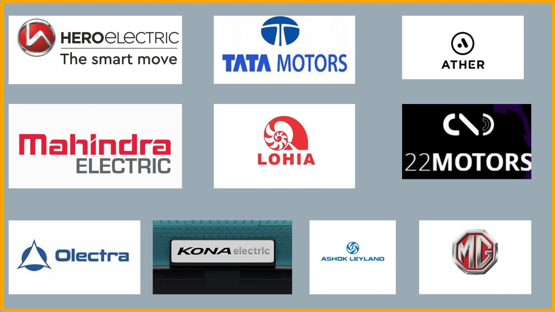 Top 10 Electric Vehicle manufacturers in India