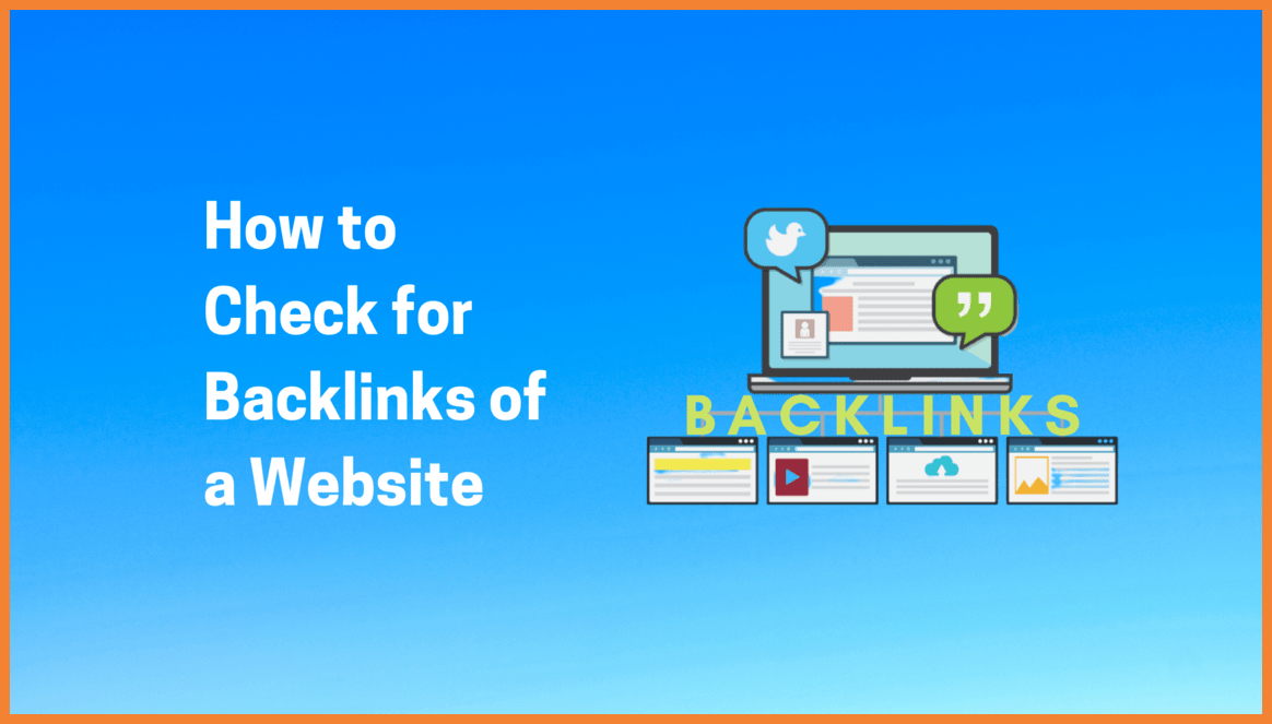 How to Check for Backlinks of a Website