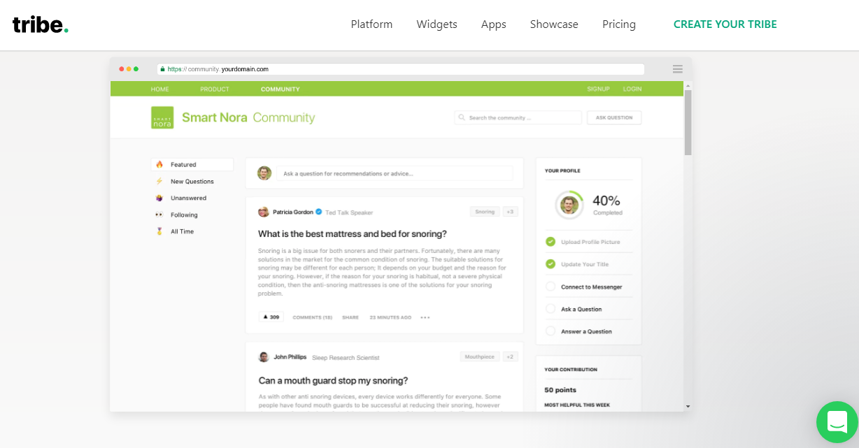Tribe: Cloud Based Community Platform