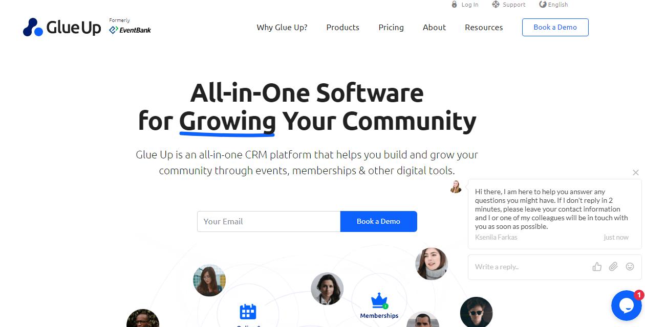 Glue up Community Platform