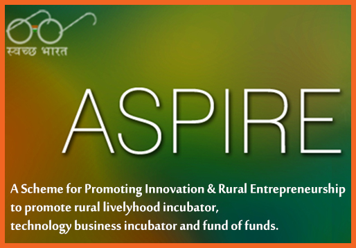 ASPIRE scheme innovation entrepreneurship INDIA