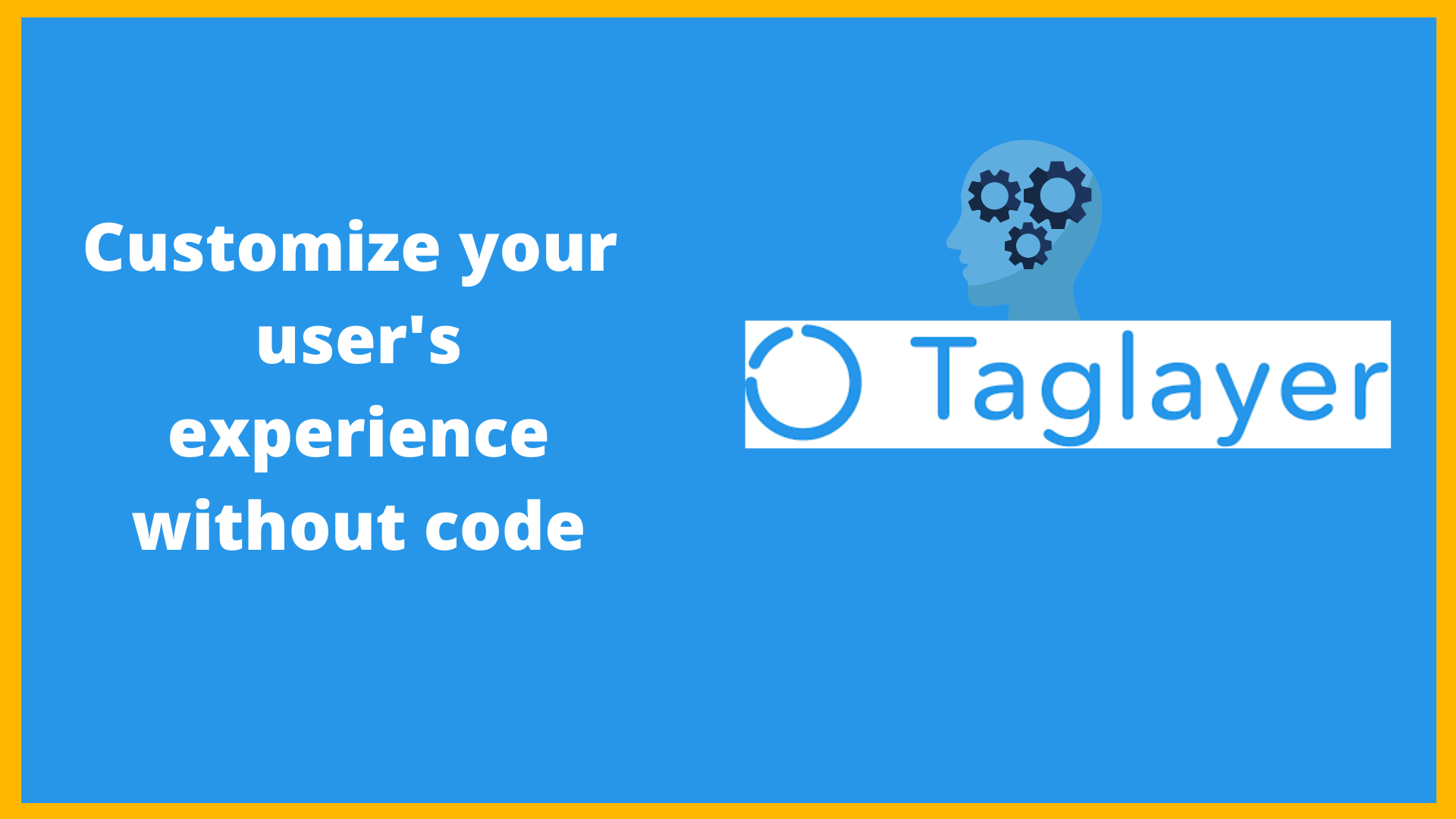 Manage your customer's experience with Taglayer