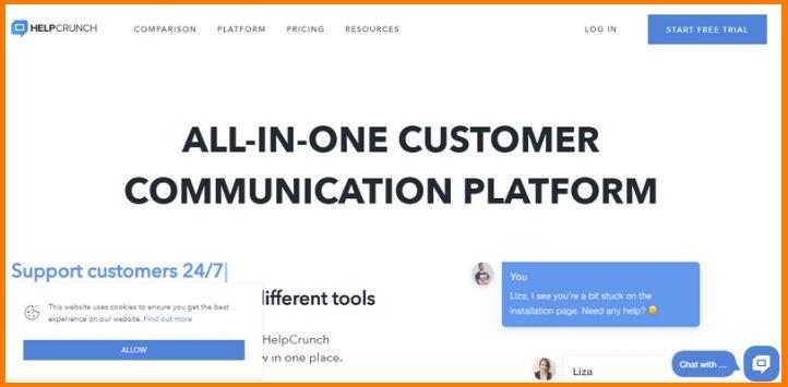 Helpcrunch Customer Support