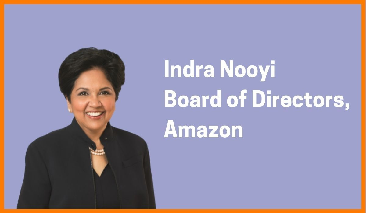 Indra Nooyi: Board of Directors of Amazon