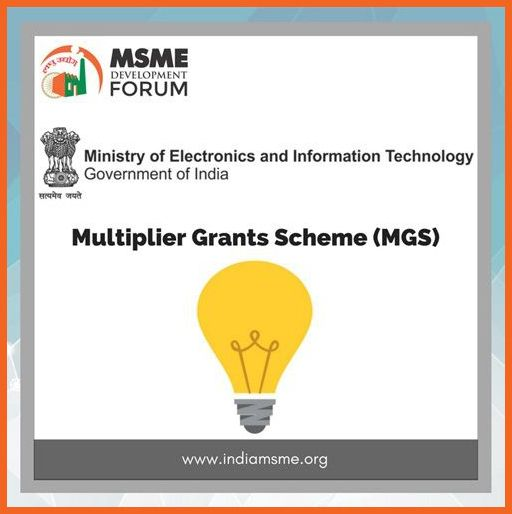 MGS Multiplier Grants Scheme India