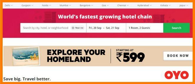 travel based startups
