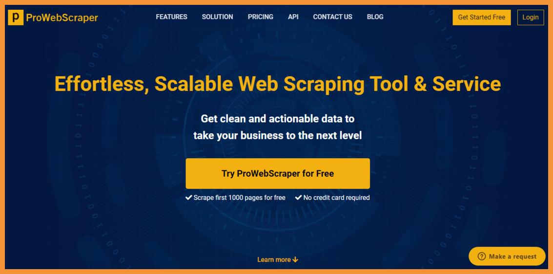 ProWebScraper-no-code-web-scraping-Startuptalky