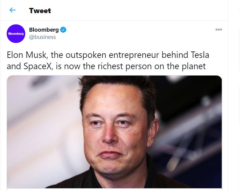 World Richest Person