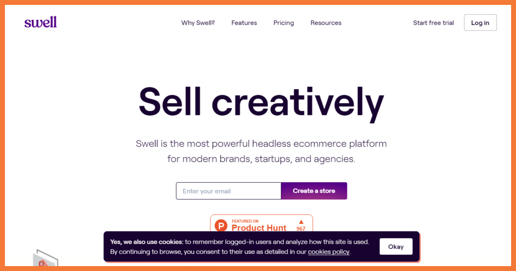 Swell No Code E-Commerce Platforms