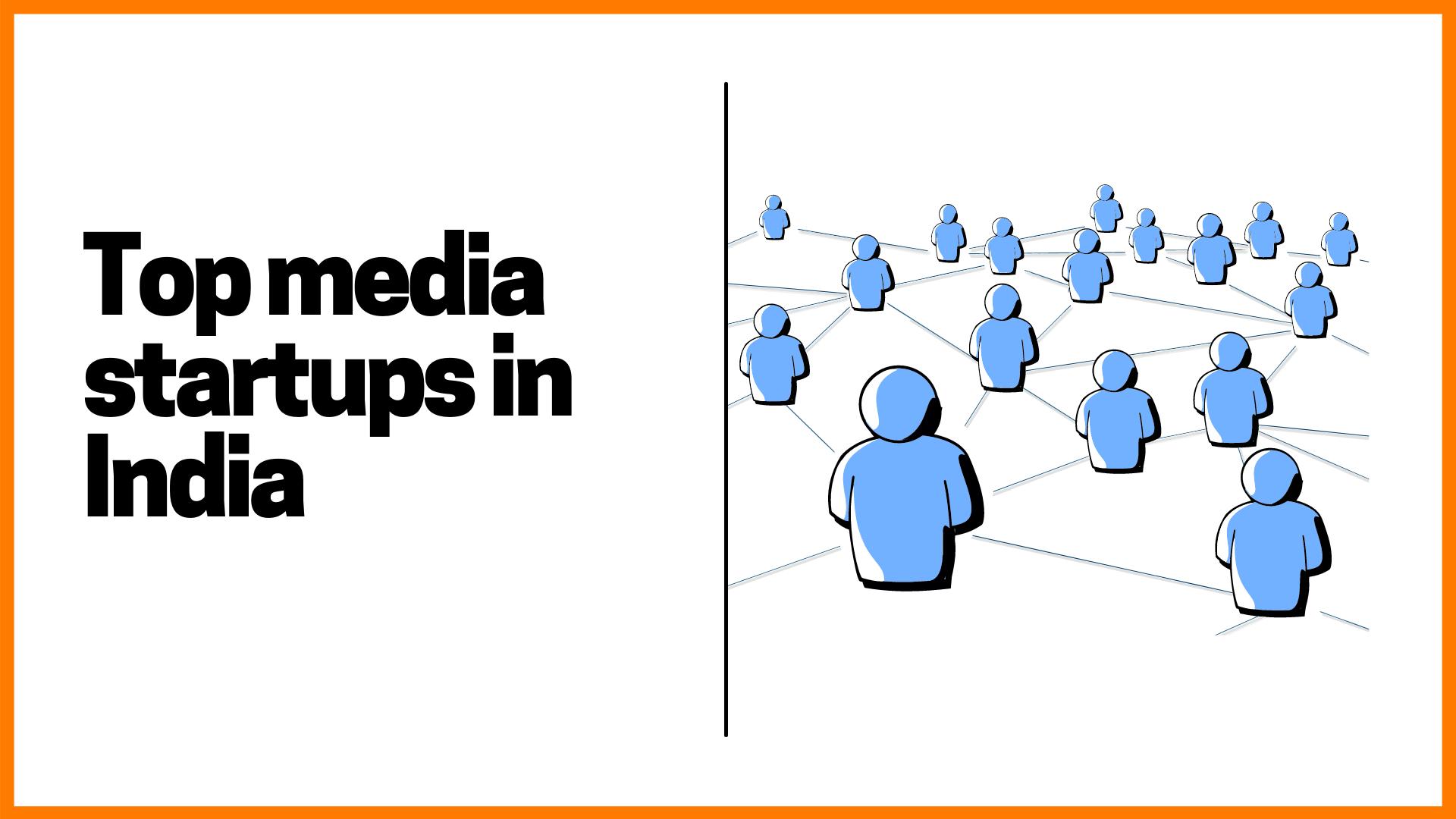 Top Media Startup's in India