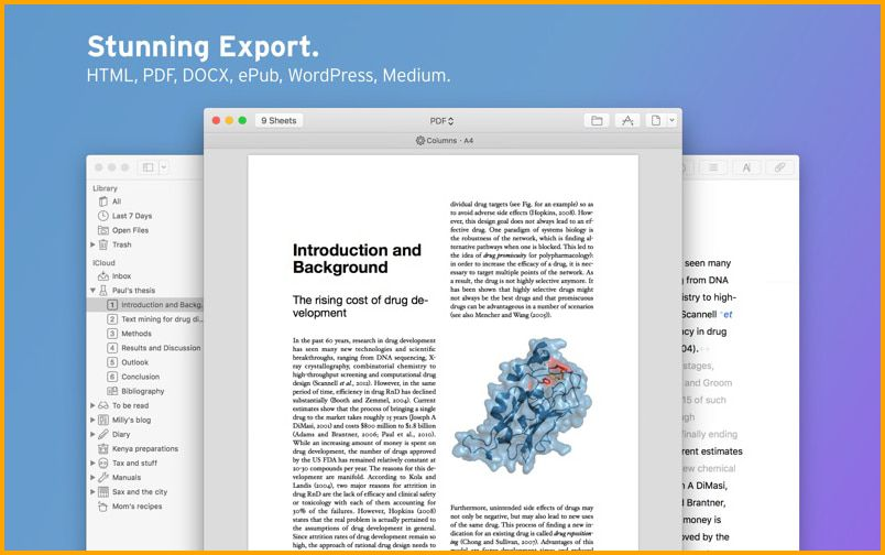 Ulysses exclusive for Mac users