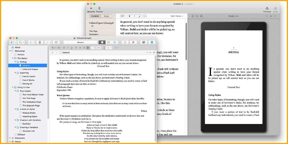 Vellum for Mac users