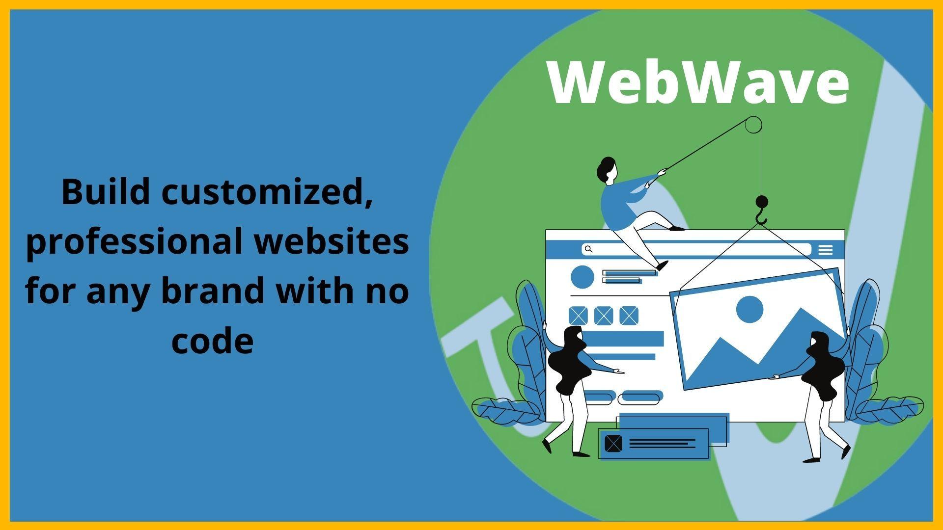 WebWave: A Packed Website Builder with Excellent Plans