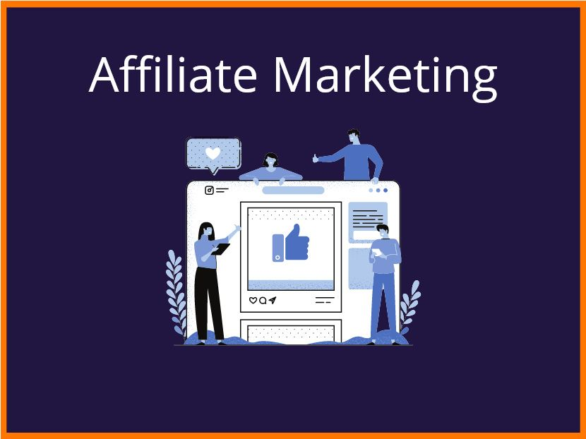 Affiliate marketing - business idea