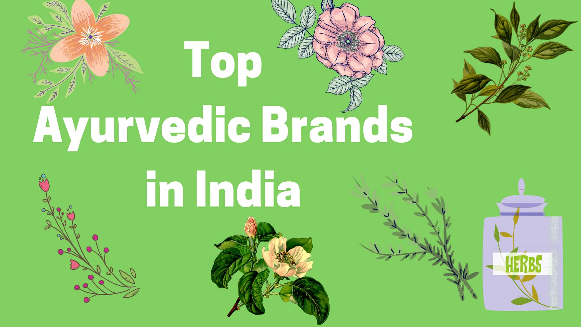 Top ayurvedic brands in India