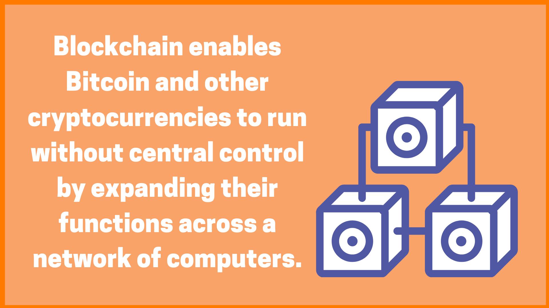 Blockchain Helps Bitcoin Functioning