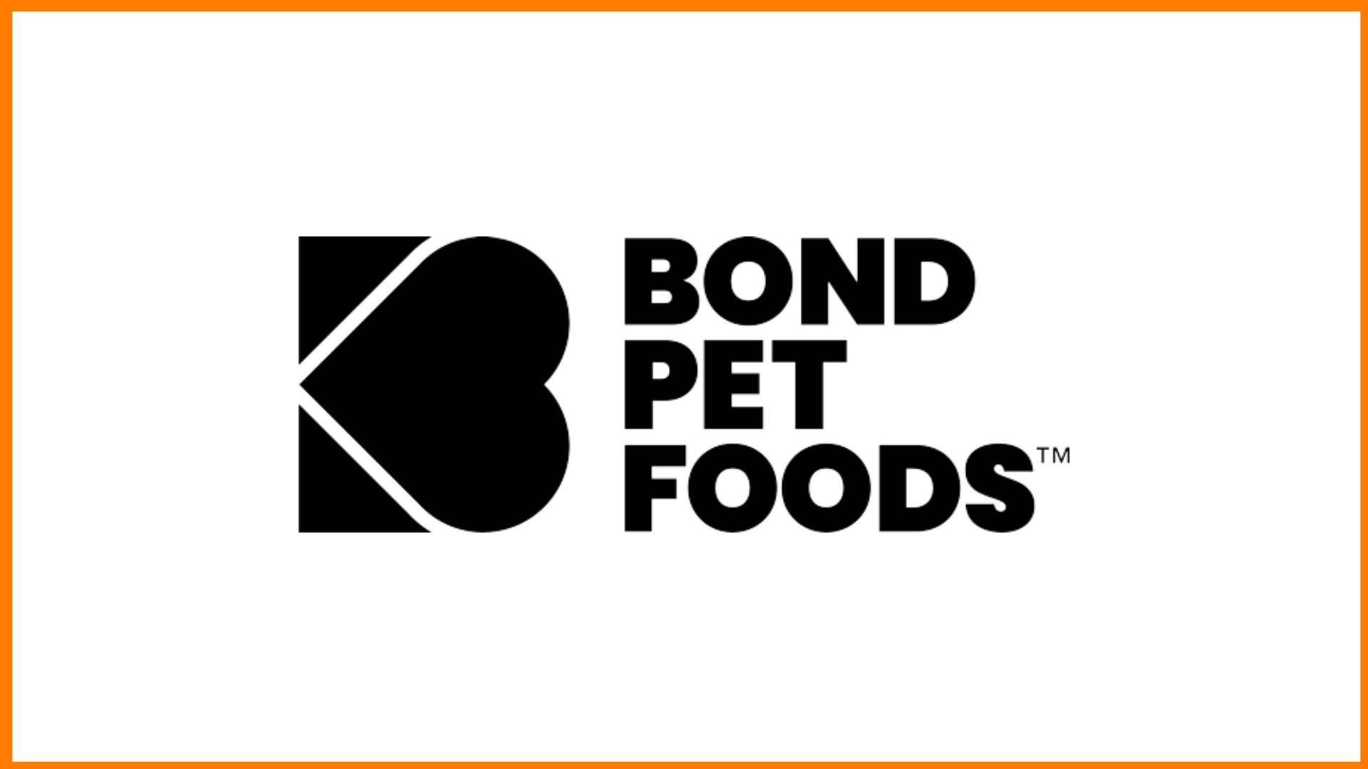 Bond Pet Food Logo