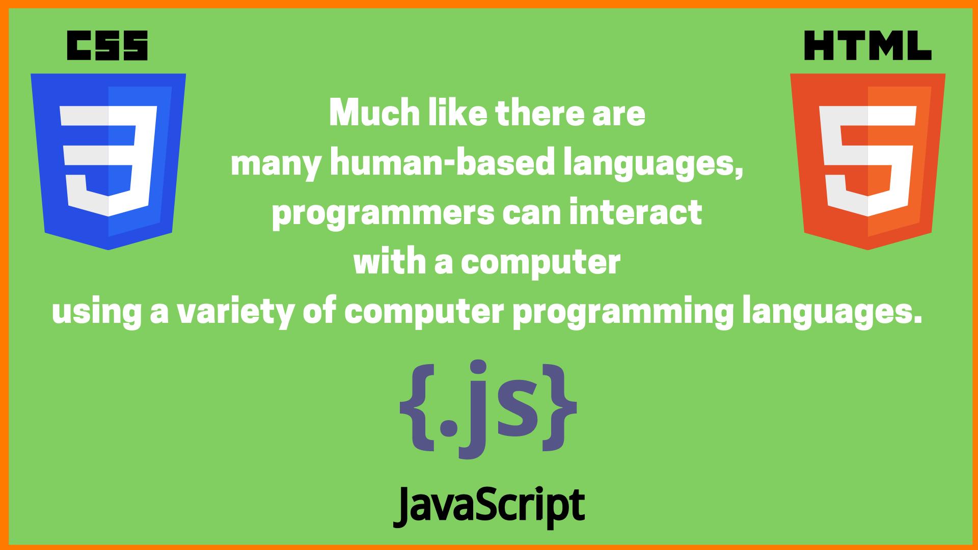 Why Do We Need Coding Language