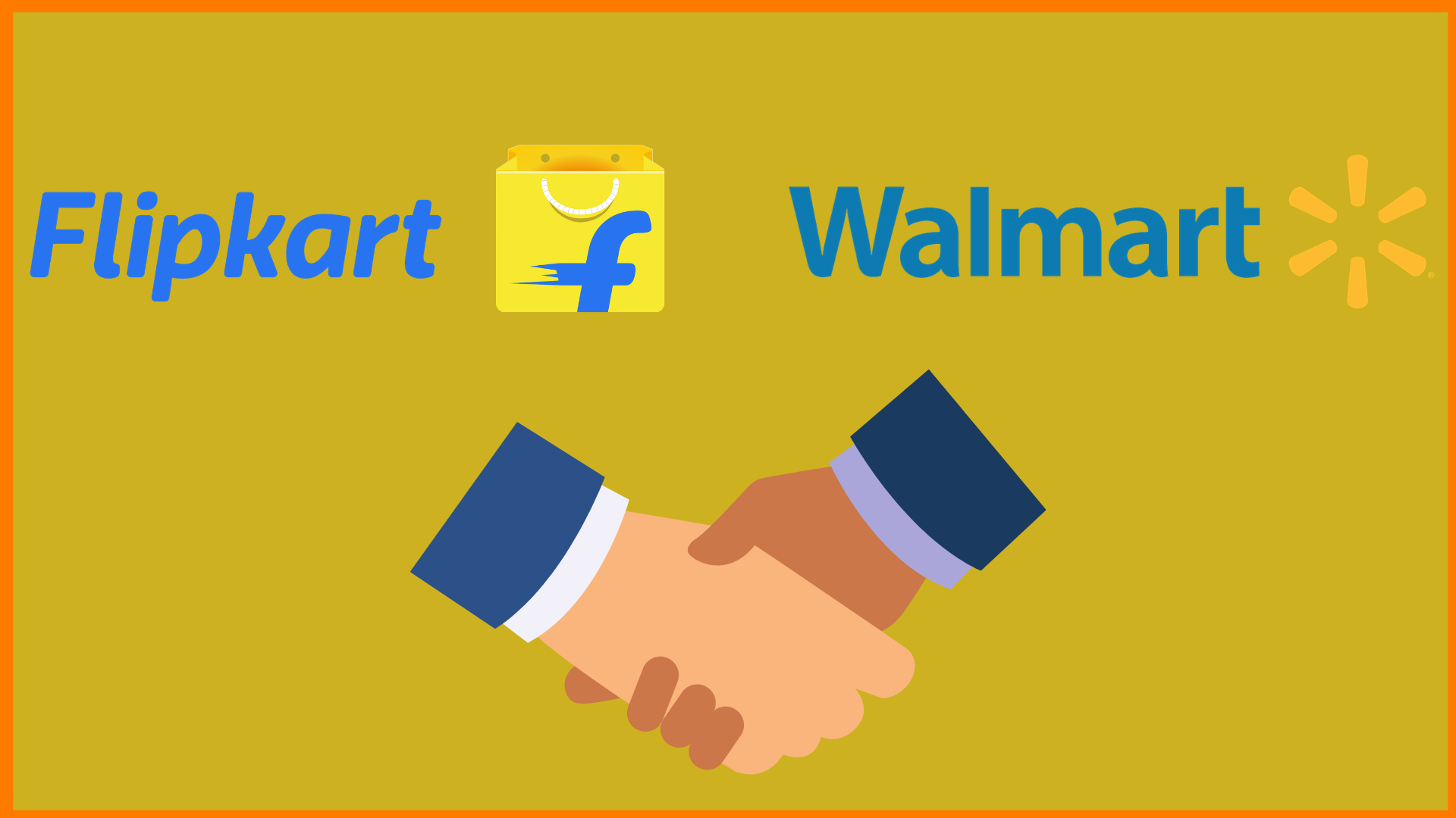 Flipkart and Walmart Logo