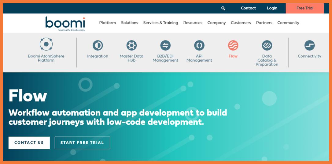 Boomi-no-code-automation-platform-Startuptalky