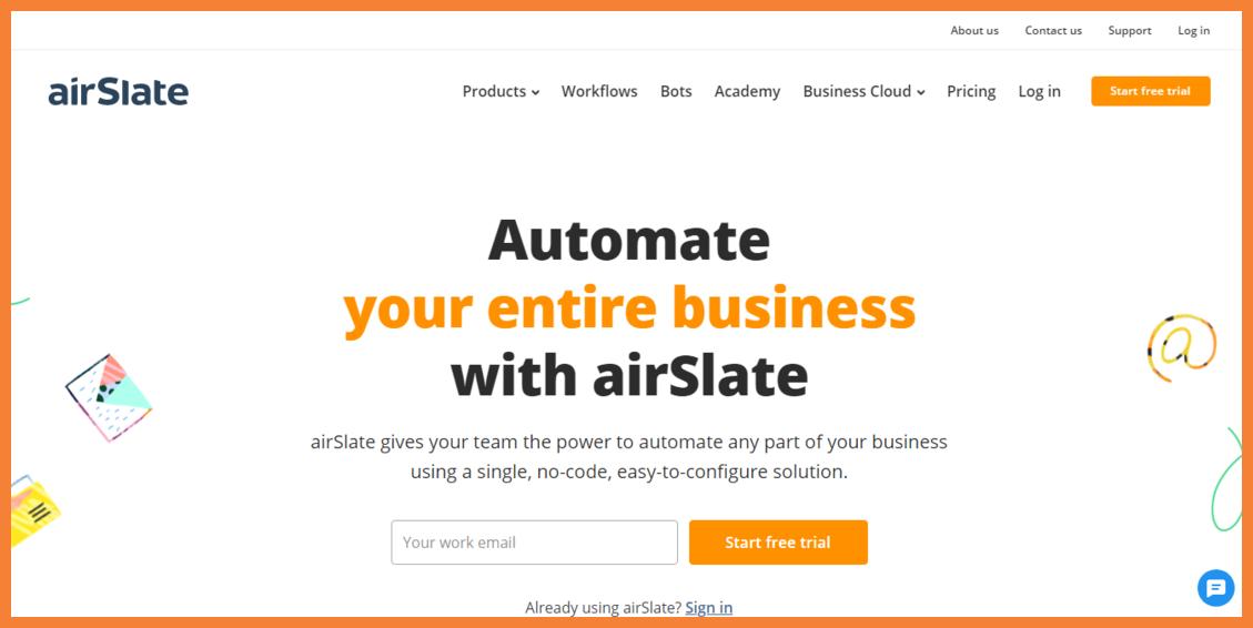 airSlate-no-code-automation-platform-Startuptalky