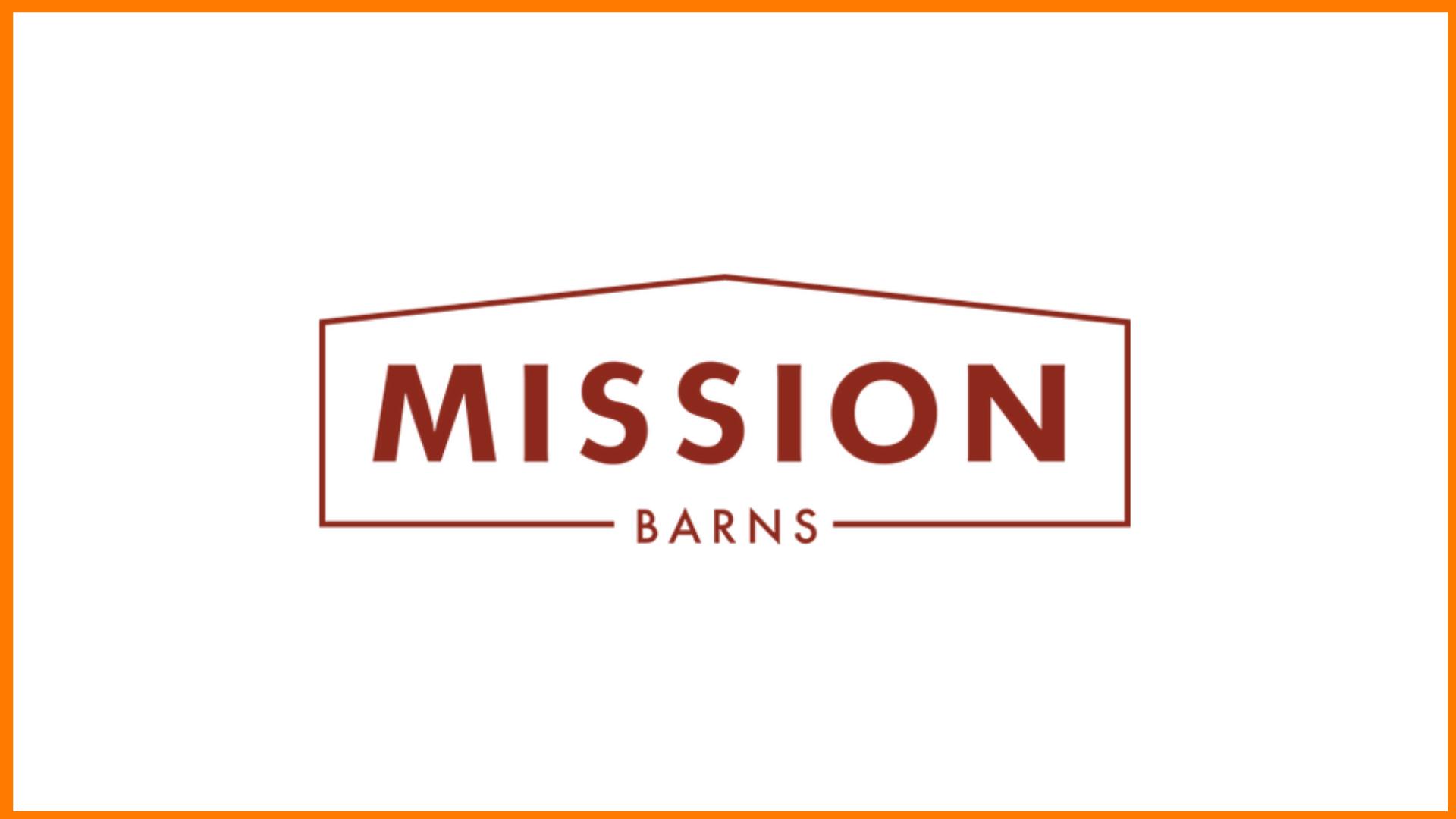 Mission Barns Logo