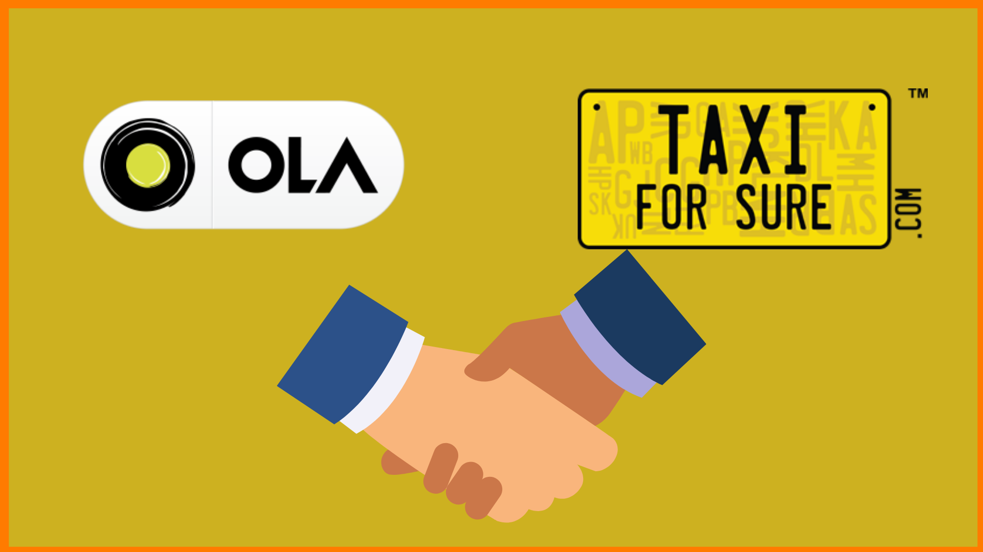Ola and TaxiForSure Logo