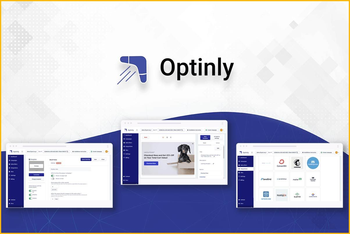 Optinly enables you to create impressive pop-ups to boost conversion rate