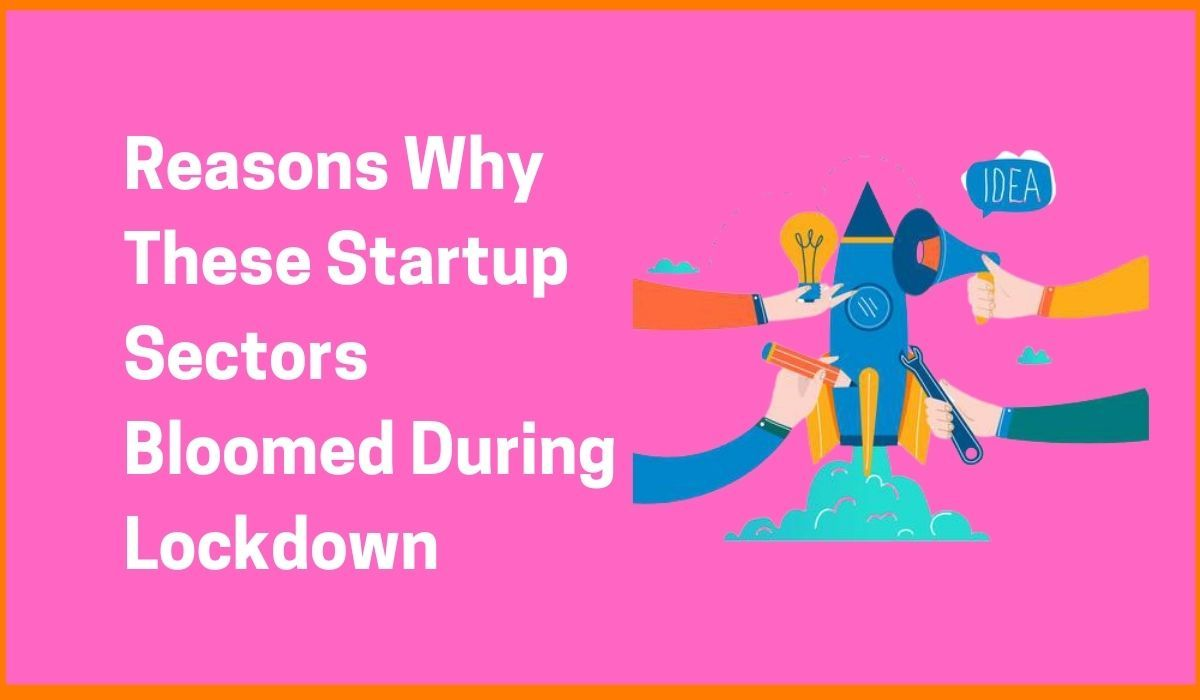 Reasons Why These Startup Sectors Bloomed During Lockdown