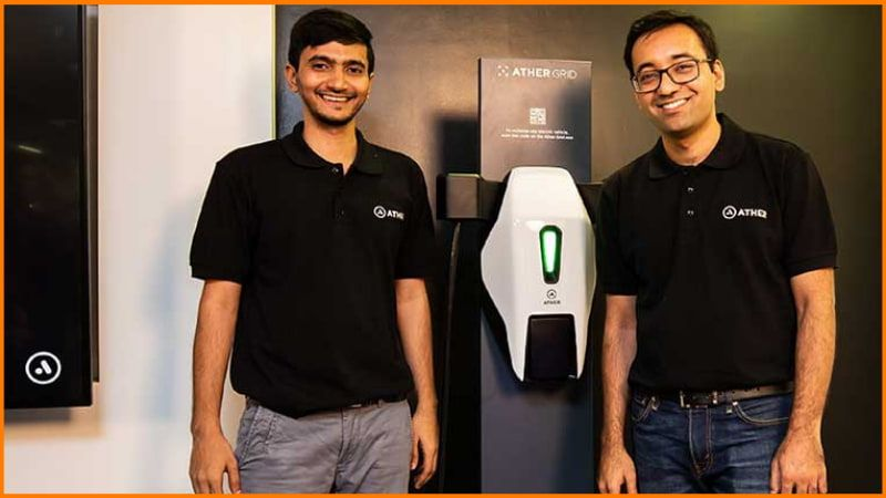 Founders of Ather energy