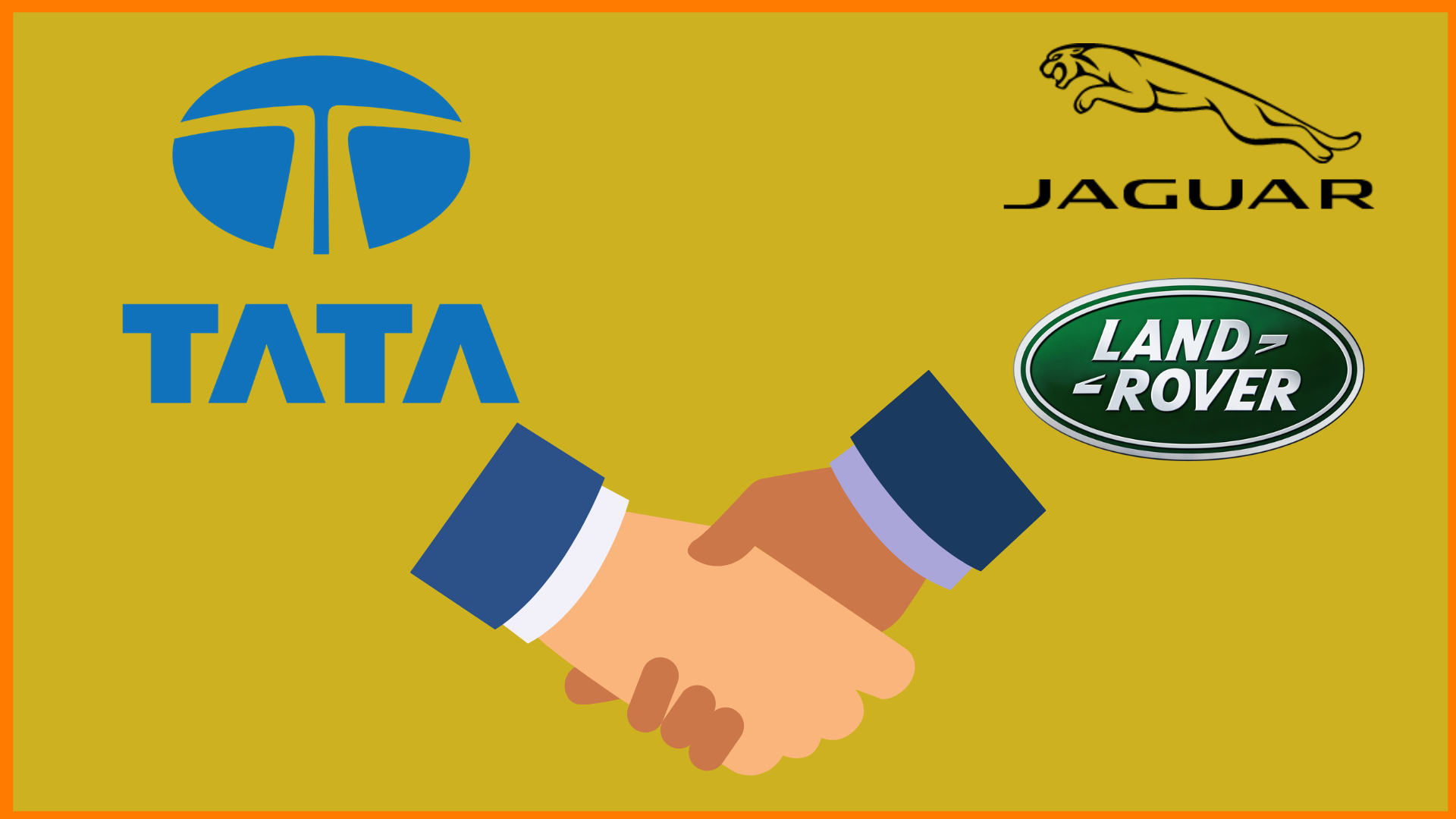 Tata Motors, Jaguar and Land Rover Logo