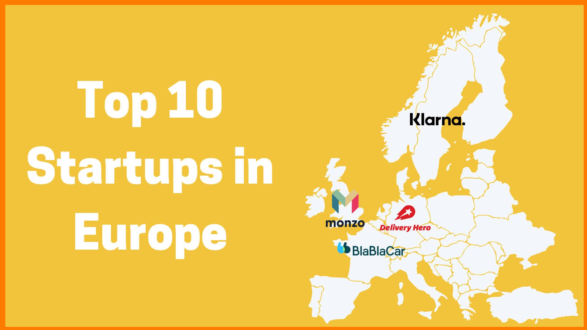 Top 10 Startups in Europe