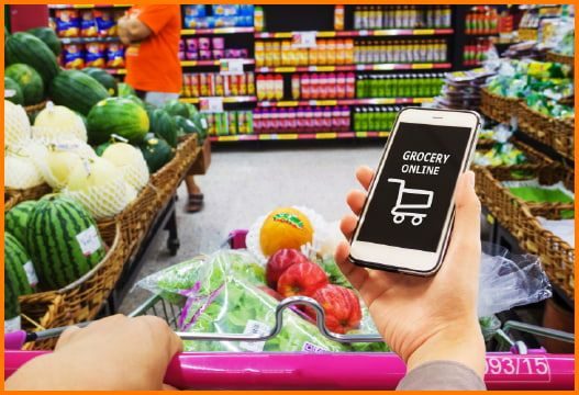 Online Grocery and Food Shopping