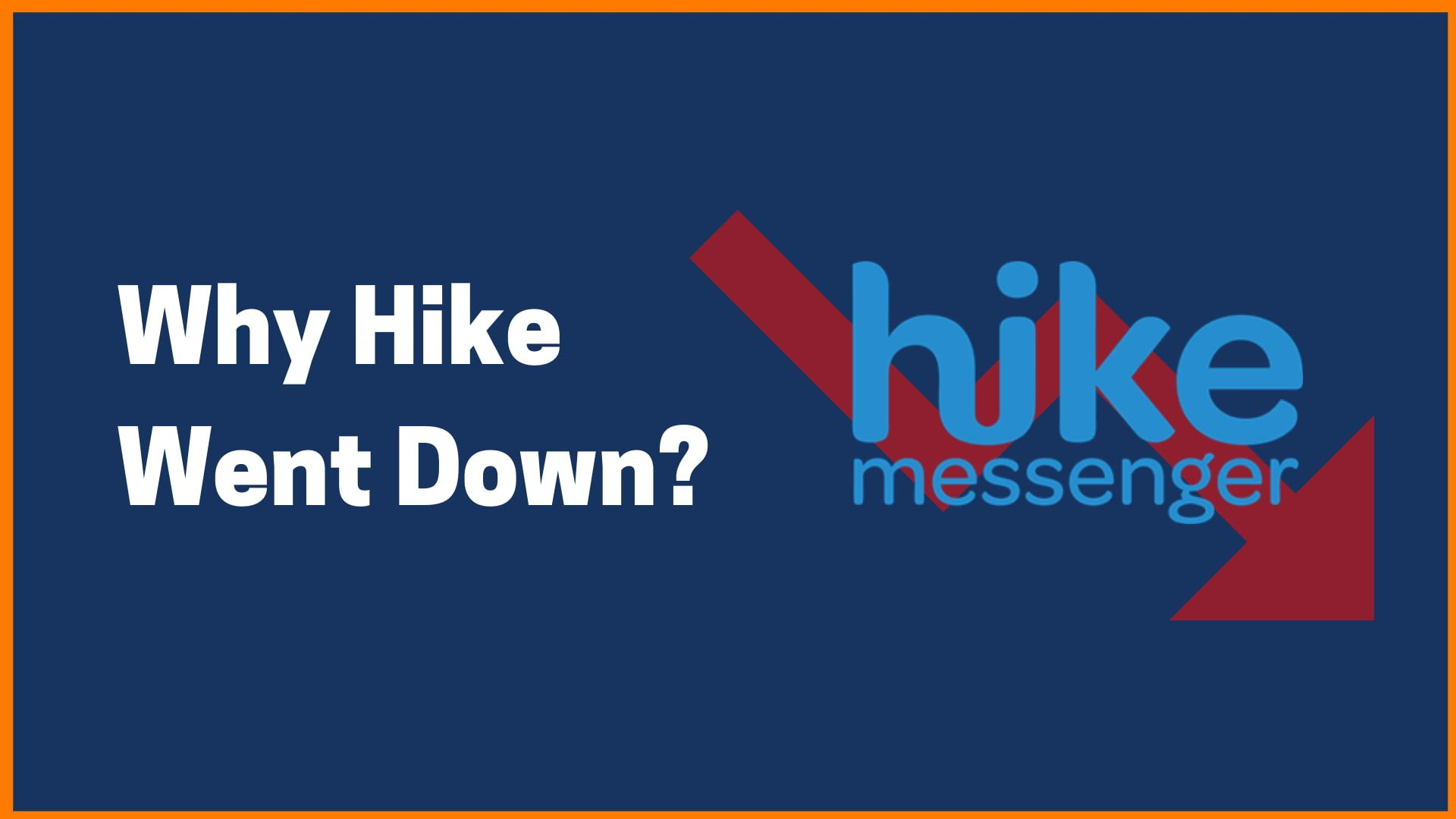 What Happened to Hike Messenger?