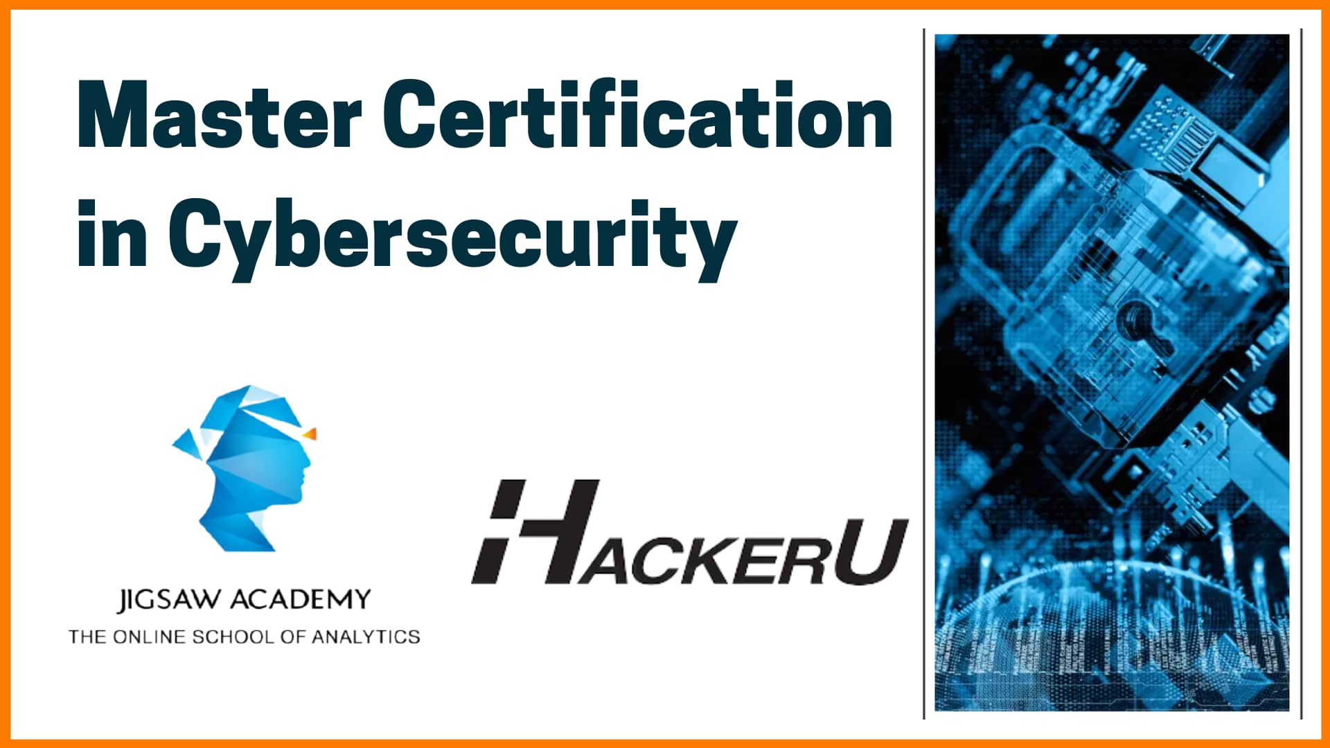Top cybersecurity course