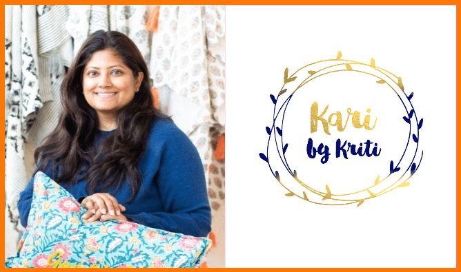 Kriti Jindal, Owner and Designer at Kari by Kriti