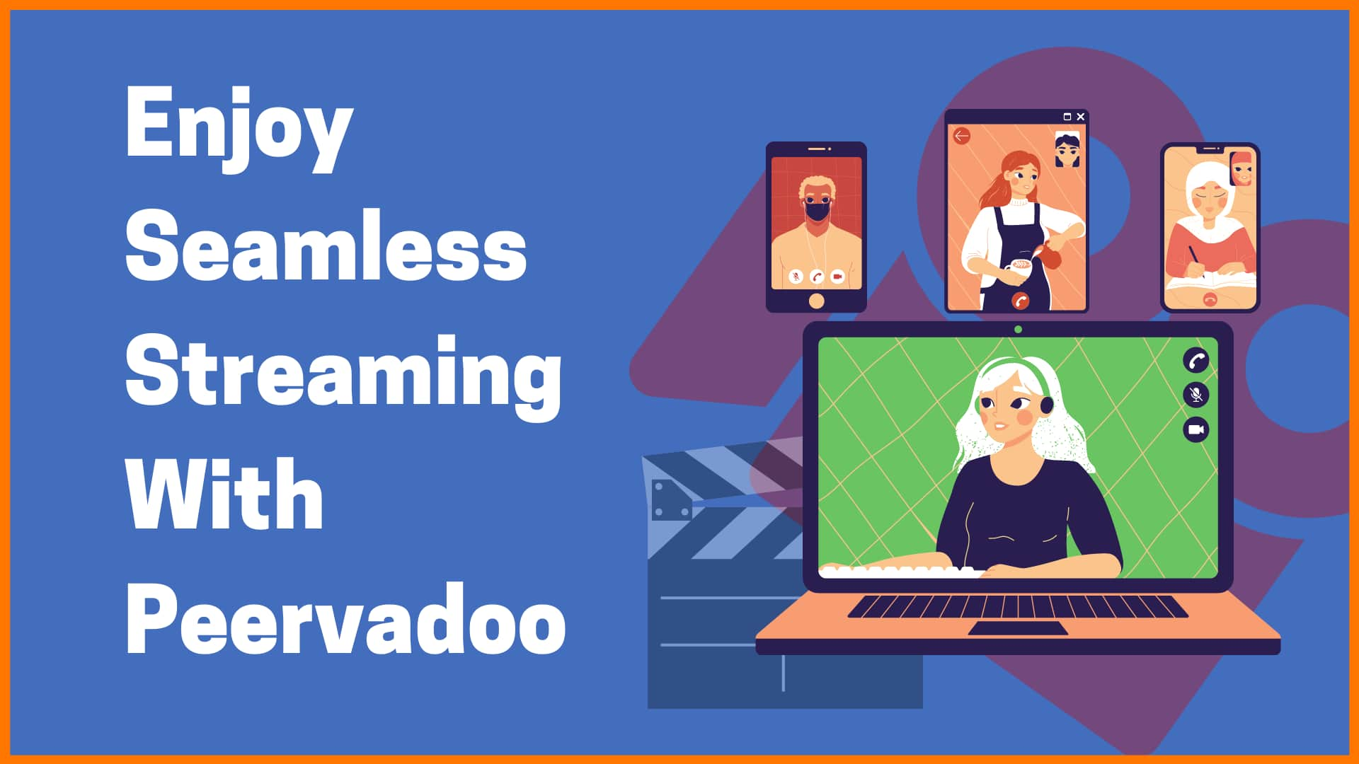 Stream Videos & Go Live With Peervadoo
