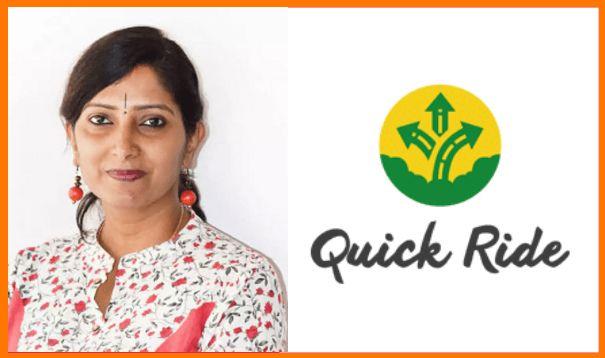 Shobhana Sriram, Co-Founder and CTO of Quick Ride