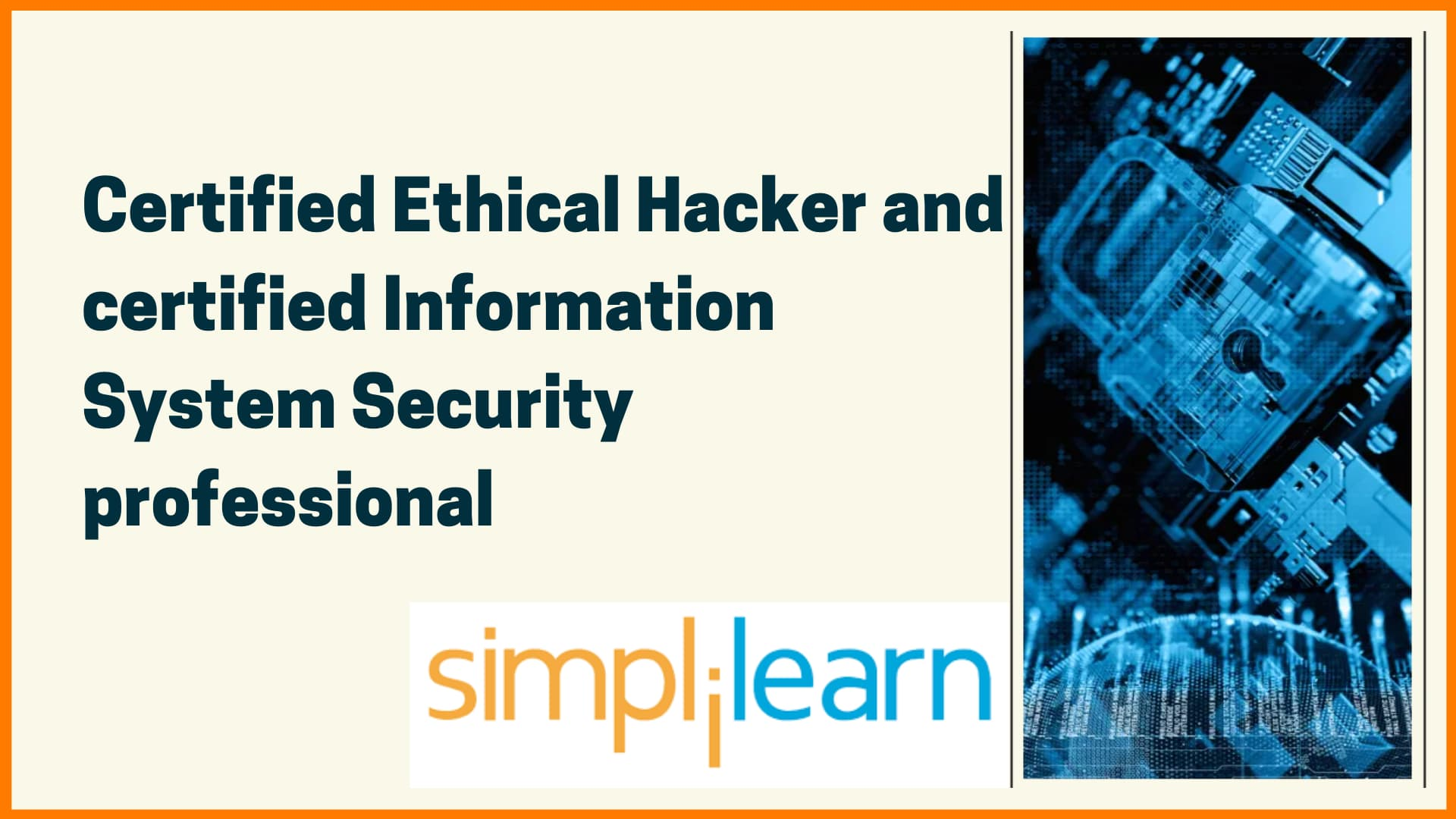 Simplilearn Course on Cybersecurity- Top cybersecurity course
