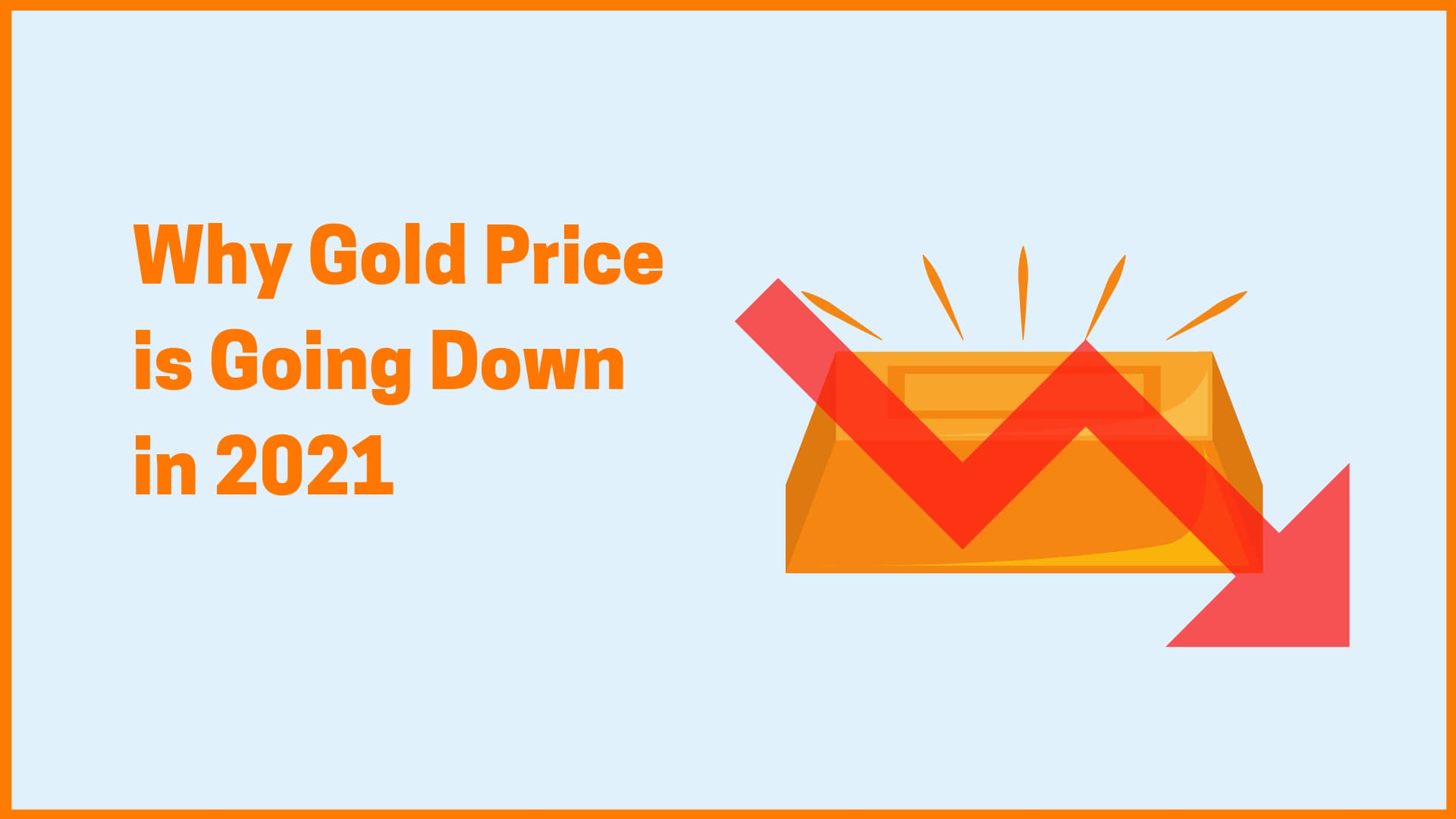Why Gold Prices are falling in February 2021?