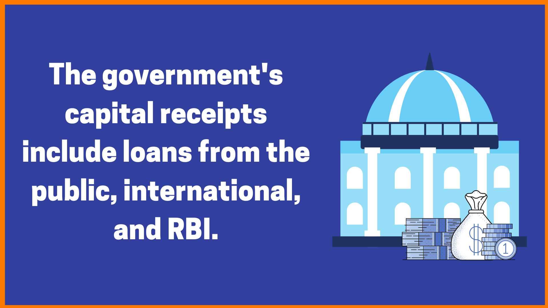 Government Capital Receipts
